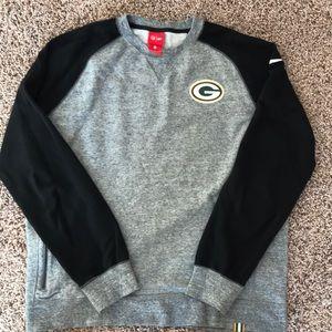 Packer crew neck sweatshirt